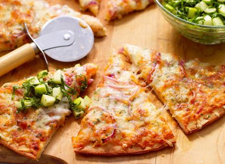 Pizza aux pommes et au fromage Suisse Recette
