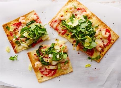 Pizza printanière épicée Recette