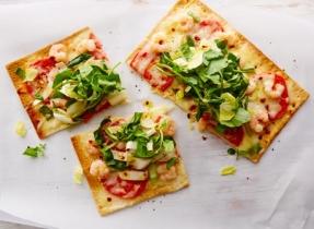 Pizza printanière épicée