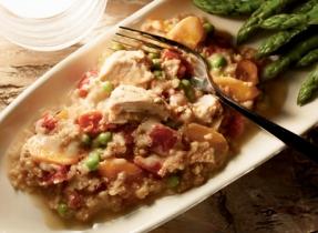 Ragoût au poulet et au quinoa de soir de semaine