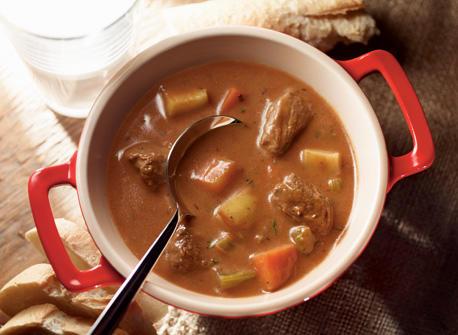 Ragoût de bœuf et de légumes grand format  Recette