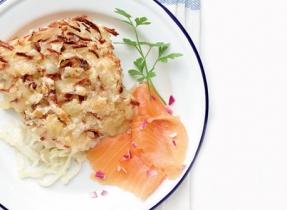 Rösti de pommes de terre au four