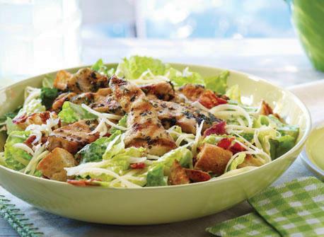 Salade César au poulet et au Gouda Recette