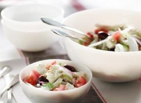 Salade de fenouil à la grecque