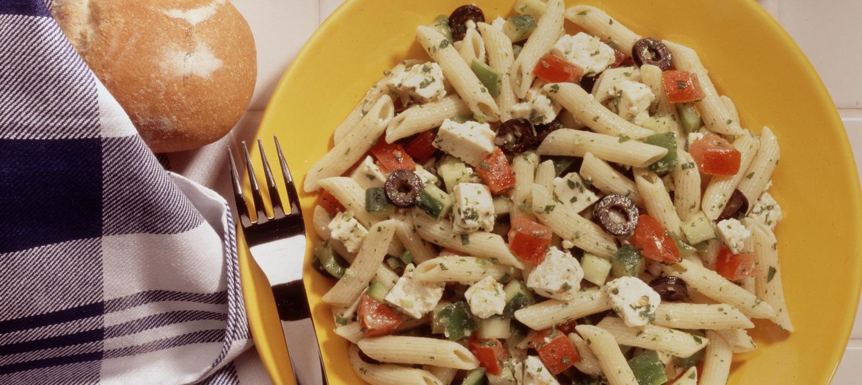 Salade De Pates A La Grecque Recette Plaisirs Laitiers