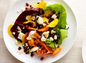 Salade de riz sauvage à la Feta et aux agrumes
