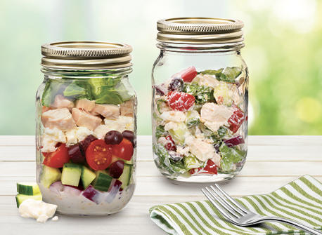 Salade grecque Recette