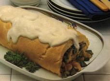 Soufflé en roulade aux asperges et au fromage  recipe