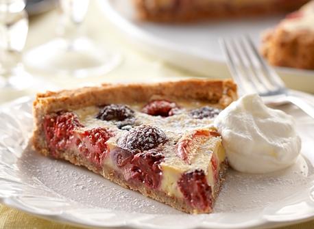 Tarte à la crème pâtissière et aux fruits estivaux Recette