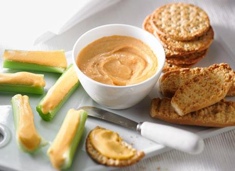 Tartinade de fromage « orange » maison Recette