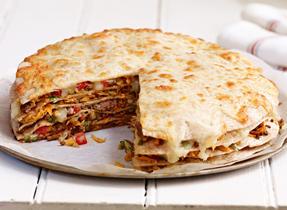 Tortillas-Pizzas à la Mozzarella