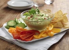 Trempette guacamole veloutée
